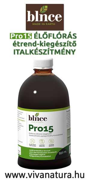Pro15 Élőflórás étrend-kiegészítő